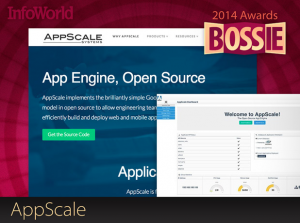 InfoWorld 2014 Bossie Award - AppScale
